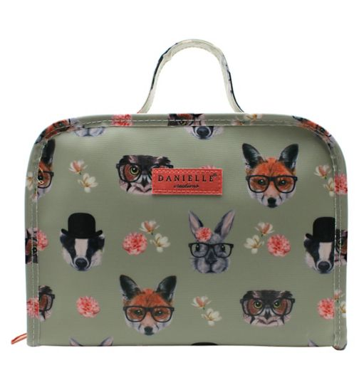 Danielle Creations Woodland Animals Design - Travel Bag with Handles