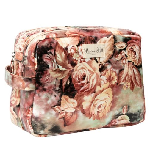 Primrose Hill floral large cosmetic bag