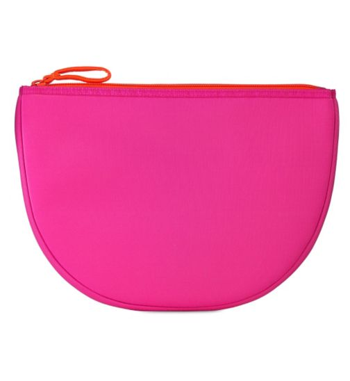 Boots Contrast Pink Beauty Bag