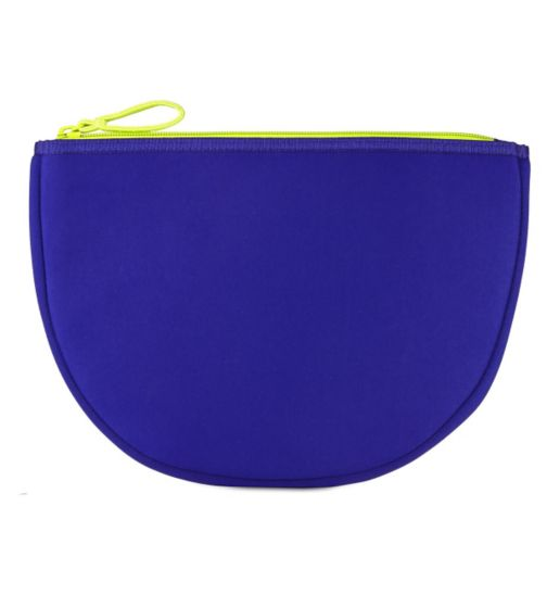 Boots Contrast Blue Beauty Bag