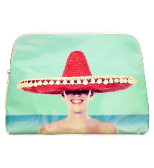 Boots Sombrero Beauty Bag