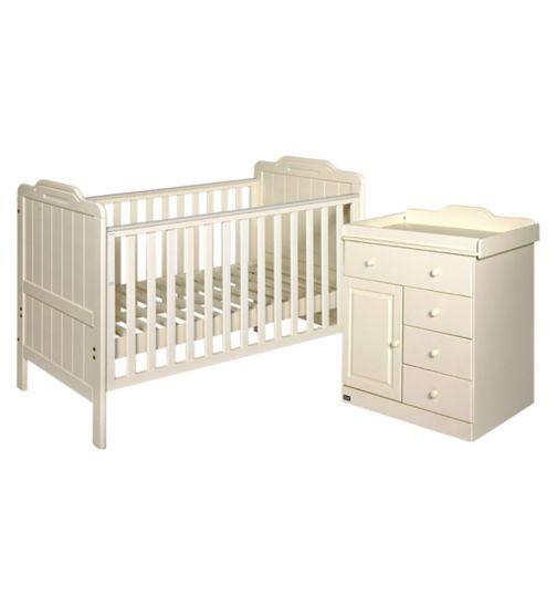 Tutti Bambini Alexia 2 Piece Room Set - Vanilla