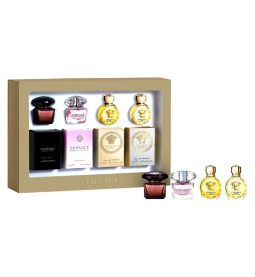 Versace Ladies 20ml Miniatures Gift Set - Exclusive to Boots