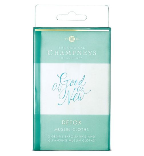 Champneys Detox Muslin Cloths