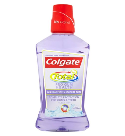 Colgate Total Pro Gum Mouthrinse Daily 500ml