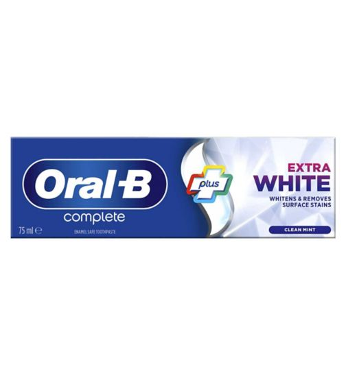 Oral B Complete Toothpaste Extra White 75ml