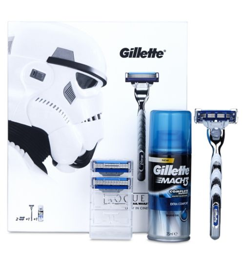 Gillette Star Wars Mach 3 Turbo Gift (Storm Trooper)