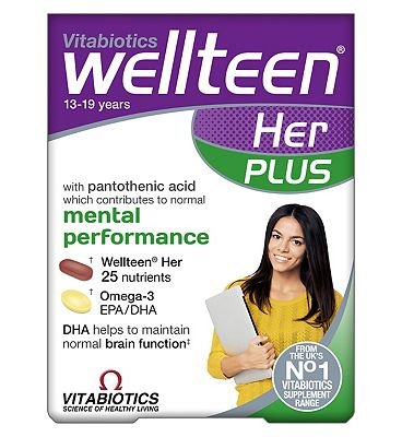 Vitabiotics Wellteen Her Plus - 56 Pack