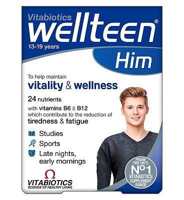Vitabiotics Wellteen Him - 30 Tablets