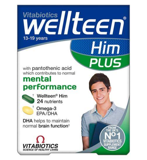 Wellteen Him Plus - 56 tablets