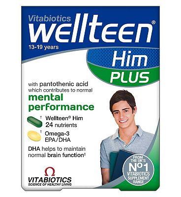Vitabiotics Wellteen Him Plus - 56 Tablets