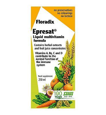 Floradix Epresat Liquid Multivitamin formula