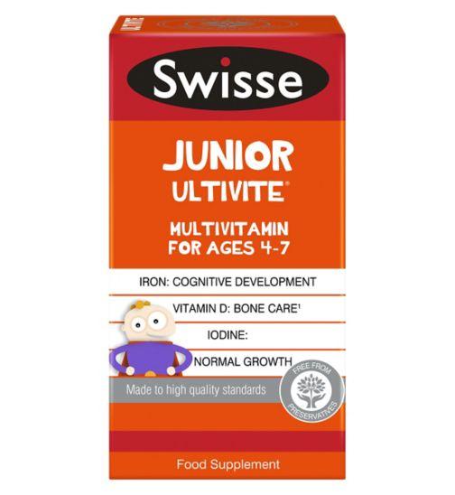 Swisse Junior Multivitamin for Ages 4-7