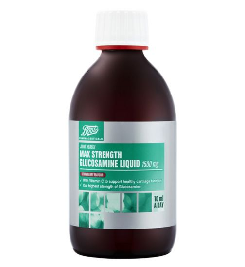 Boots Max Strength Glucosamine Liquid 1500 mg
