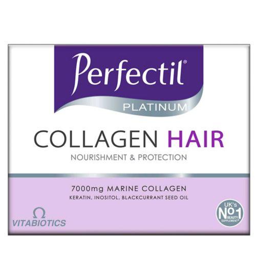 Vitabiotics Perfectil Platinum Collagen For Hair - 10x50ml