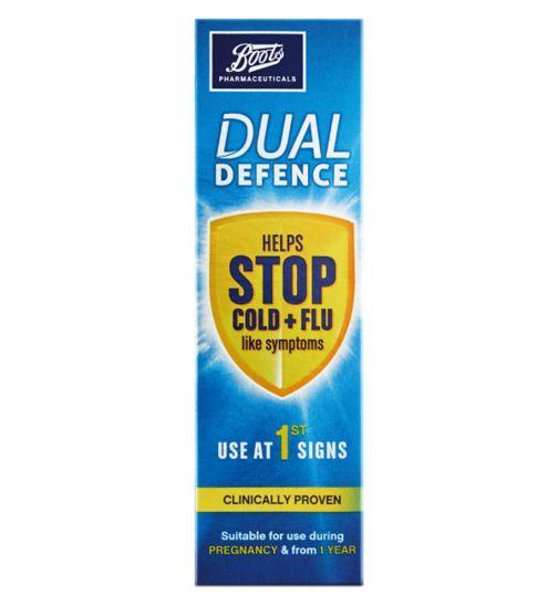 Boots Dual Defence Nasal Spray 20ml