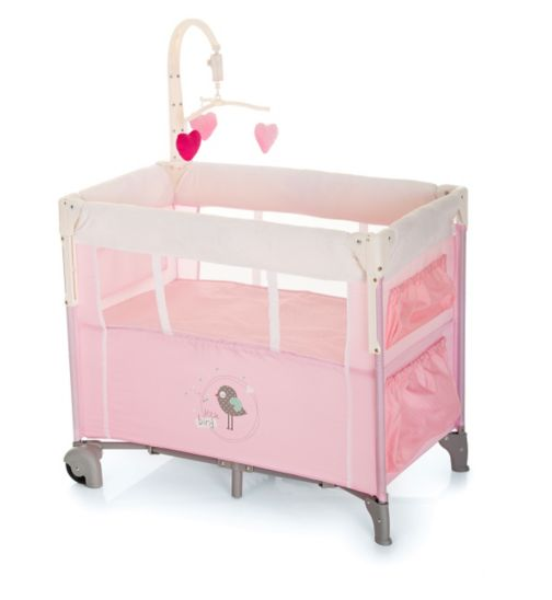 Hauck Dream'n Care Center Travel Cot - Little Bird