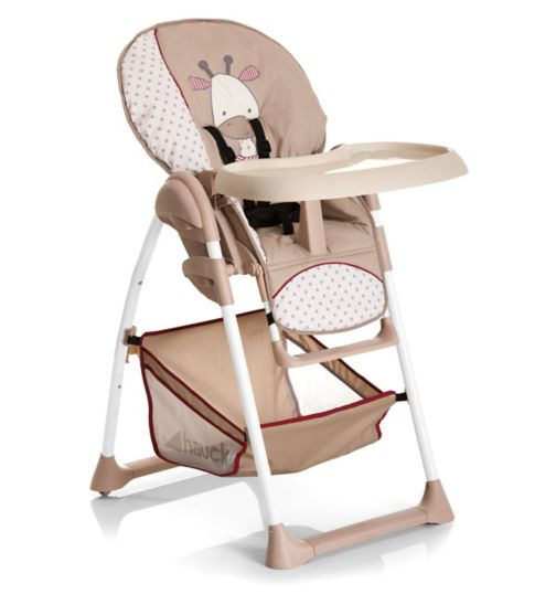 Hauck Sit'n Relax Highchair-Giraffe