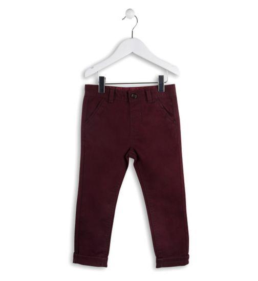 Mini Club Boys Trouser Dark Red