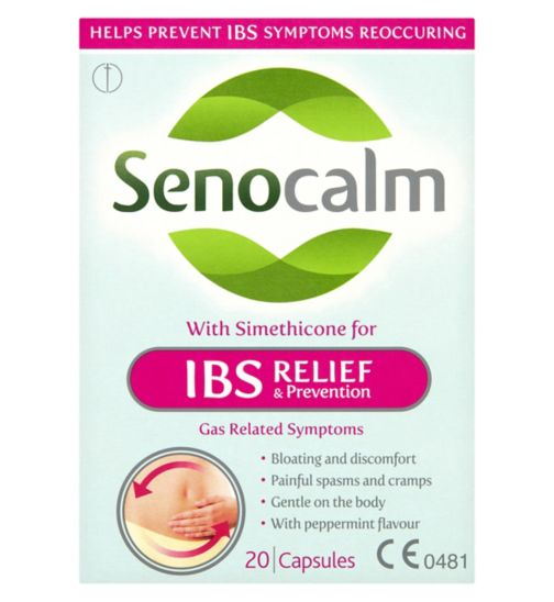 Senocalm IBS Relief & Prevention Capsules - 20 Capsules