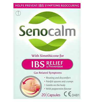 Senocalm IBS Relief & Prevention - 20 Capsules