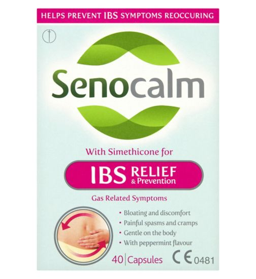 Senocalm IBS Relief & Prevention Capsules- 40 Capsules
