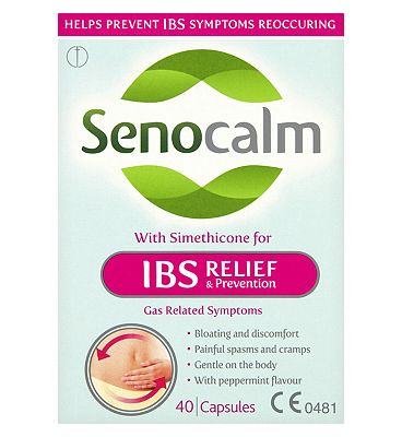 Senocalm IBS Relief & Prevention - 40 Capsules