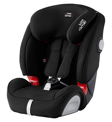 Britax Roemer Evolva 123 SL SICT Car Seat – Black