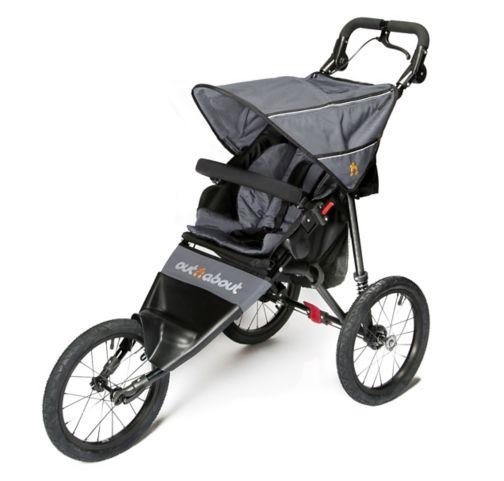 Out 'n' About Nipper Sport V4 Pushchair - Steel Grey