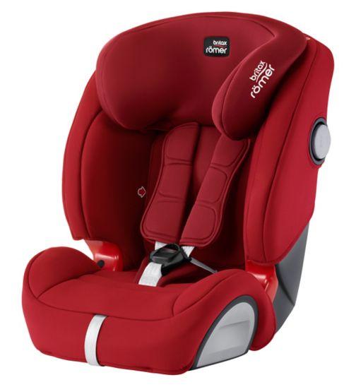 Britax Romer Evolva 123 SL SICT Car Seat - Flame Red