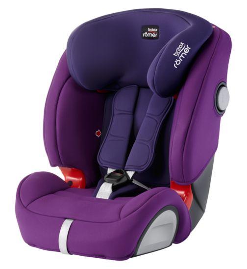 Britax Romer Evolva 123 SL SICT Car Seat - Mineral Purple
