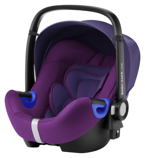 Britax Römer BABY-SAFE i-SIZE Car Seat - Mineral Purple