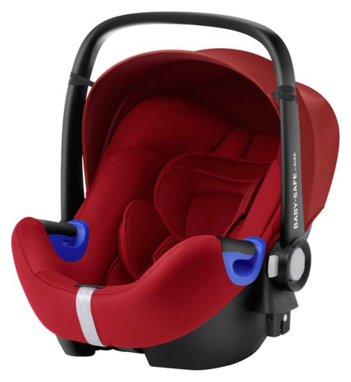 Britax Romer Baby-Safe i-Size Group 0 Car Seat - Flame Red