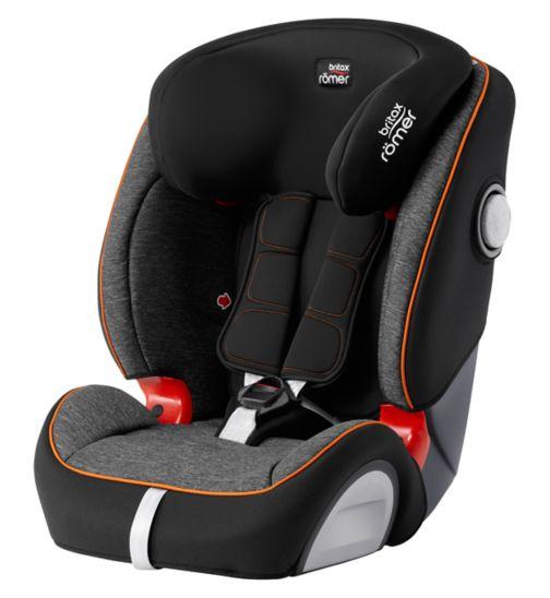 Britax Römer EVOLVA 1-2-3 SL SICT Car Seat - Black Marble