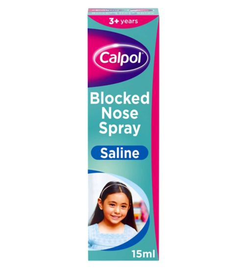 Calpol Blocked Nose Spray - 3 Years+
