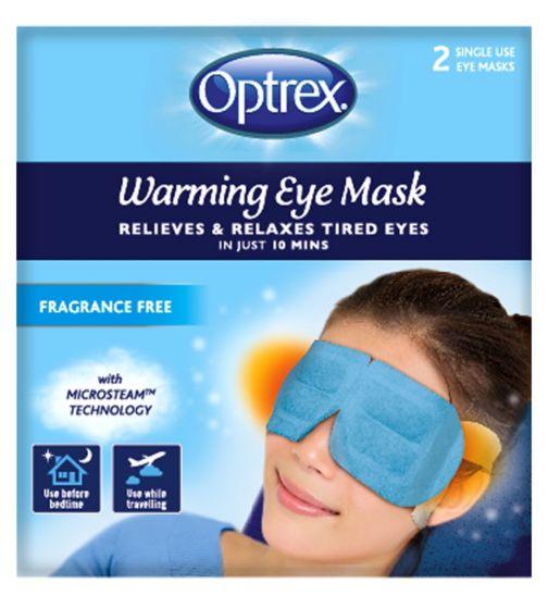 Optrex Warming Eye Mask Fragrance-free - 2 Pack