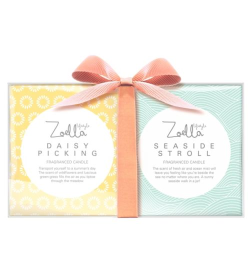 Zoella Daisy Picking and Seaside Stroll Candle Collection