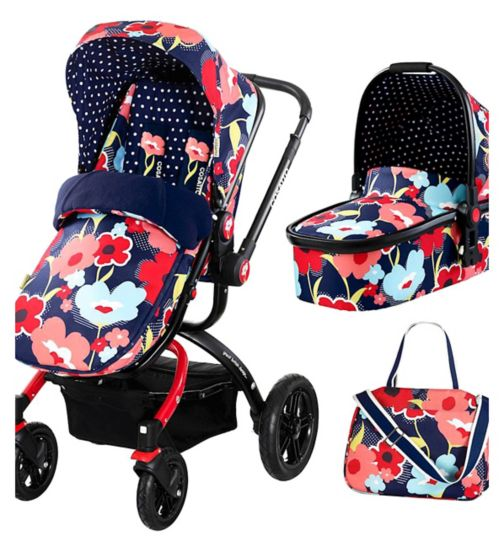 Cosatto Ooba Travel System Proper Poppy