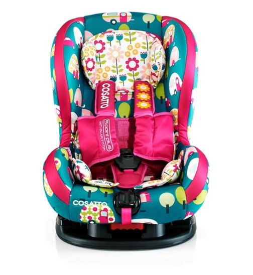Cosato Moova2 Group1 Car Seat (with Anti-Escape System) - Happy Campers
