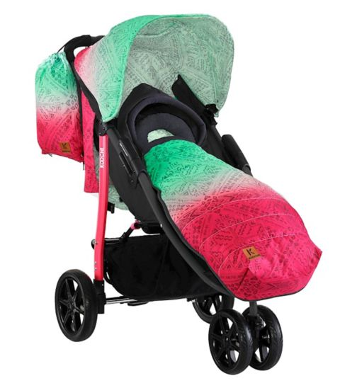 Koochi Pushmatic Stroller - Bali