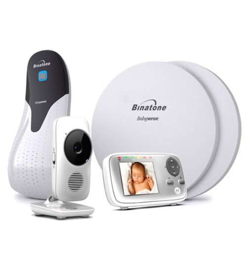 Motorola MBP483 Sense Pads & Video baby monitor