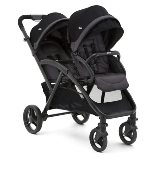 Joie Evalite twin stroller - Two Tone Black