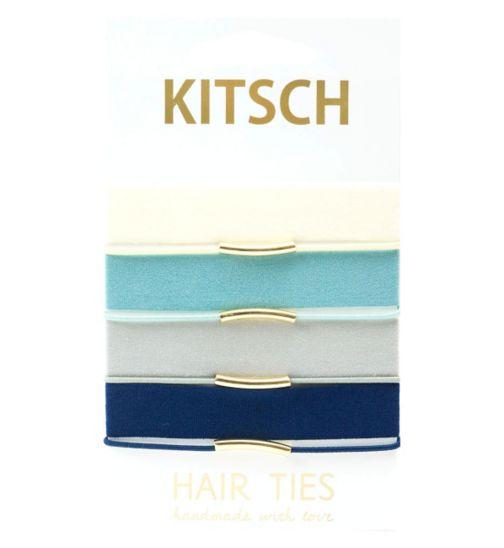 Kitsch Hair Ties Blue Bird