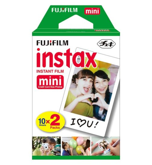 Fujifilm Instax Mini Film - 2 x 10 Shots