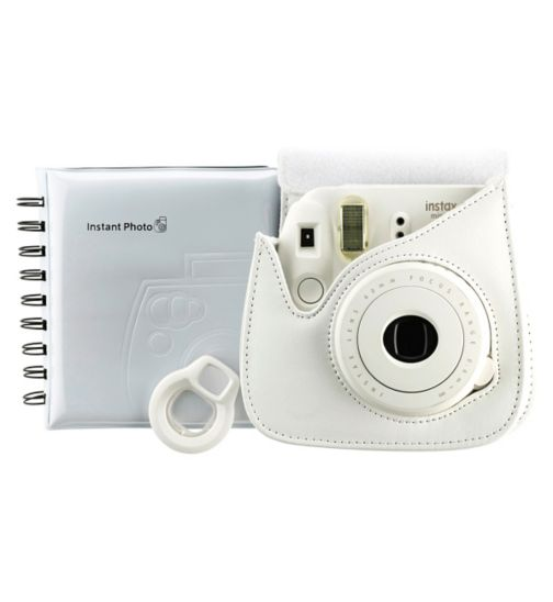 Instax Mini 8 Accessory Kit White
