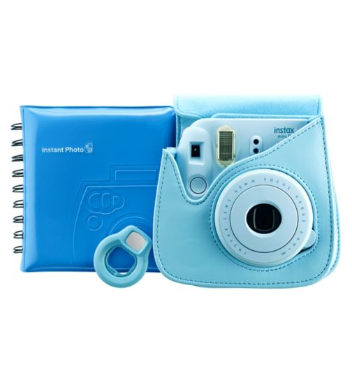 Instax Mini 8 Accessory Kit Blue