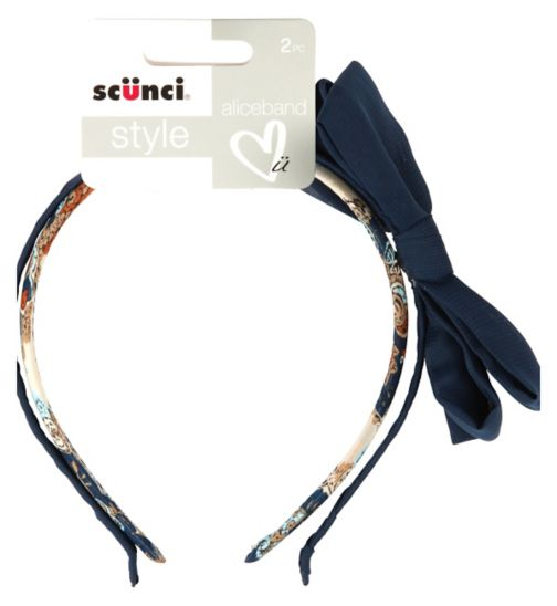 Scunci Style Bow Headbands 2s