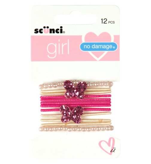 Scunci girl Decorative Elastics 12s