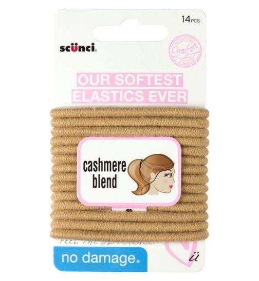 Scunci Comfort Cashmere Blonde Elastic 14s