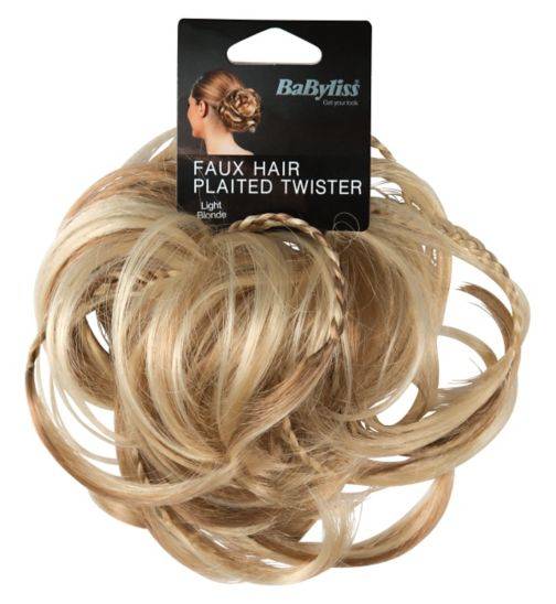 Babyliss faux hair twister light blonde